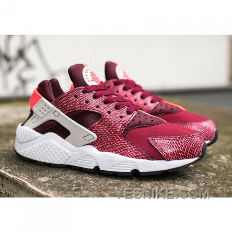 big sale 67bff ca1a9 Big Discount ! 66% OFF! Nike Air Huarache Womens Red Black Friday Deals  2016[XMS1263]