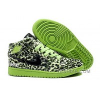 Big Discount! 66% OFF! Buy To Buy Air Jordan 1 I Leopard Mens Shoes Fur Inside For Winter Online Green C4z6Q