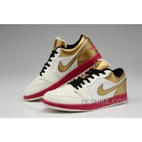Big Discount! 66% OFF! Where Can I Buy For Sale Air Jordan 1 Xiii Retro Men Shoes Online White And Gold Net2p