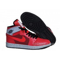 Big Discount! 66% OFF! Uk Air Jordan 1 Retro 89 Newest Mens Shoes Online Red Cemenst Grey KK2tS