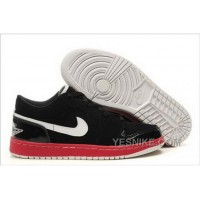 Big Discount! 66% OFF! Canada Nike Air Jordan 1 I Mens Shoes Low Online Black White Red YsJth