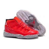 Big Discount! 66% OFF! Discount Code For Nike Air Jordan Xi 11 Retro Mens Shoes Glowing Red White Pot 87aPX