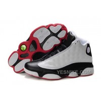 Big Discount! 66% OFF! Nike Air Jordan 13 Mens White Black Red Shoes 5MhzS