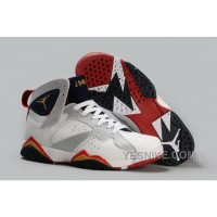 Big Discount! 66% OFF! Coupon Code For Nike Air Jordan Vii 7 Retro Mens Shoes Discount For Sale White Silver E7njW