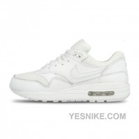 Big Discount ! 66% OFF! Nike Air Max 1 Womens White Black Friday Deals 2016[XMS1584]