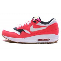 Big Discount ! 66% OFF! Nike Air Max 1 Womens Orange Black Friday Deals 2016[XMS1597]
