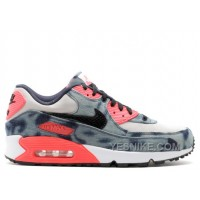 Big Discount! 66% OFF! Air Max 90 Dnm Qs Infrared Washed Denim Sale