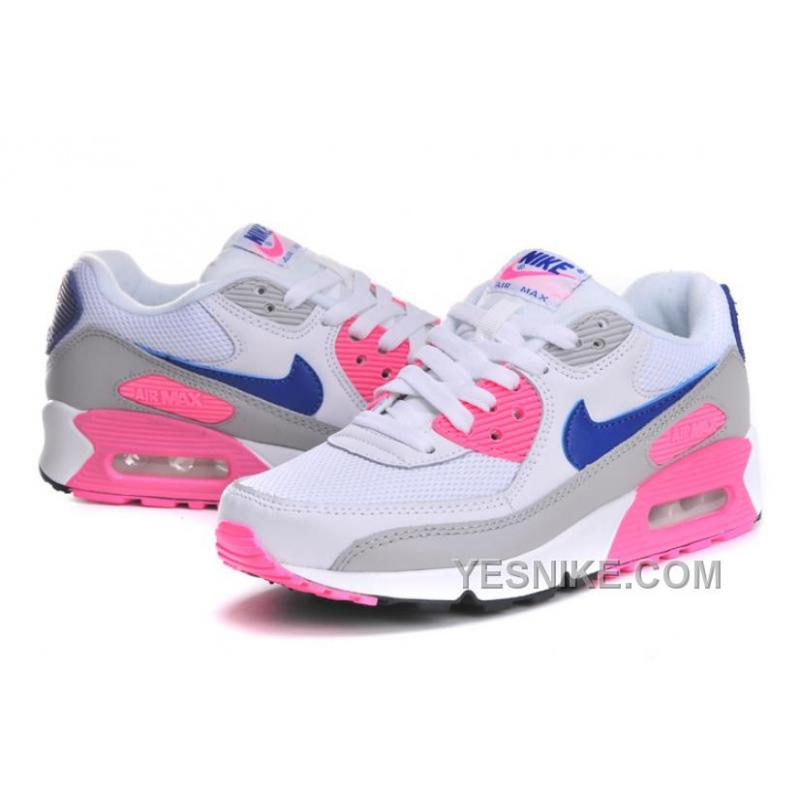 Big Discount ! 66% OFF! Soldes Professionnel Nike Air Max 90 Femme Essential Concord Rose Baskets Vente Privee