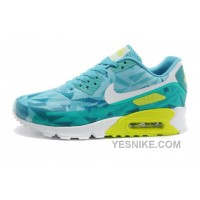 Big Discount ! 66% OFF! Nike Air Max 90 Womens Blue Black Friday Deals 2016[XMS1934]
