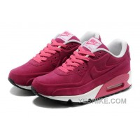 Big Discount ! 66% OFF! Nike Air Max 90 Womens Red Black Friday Deals 2016[XMS1935]