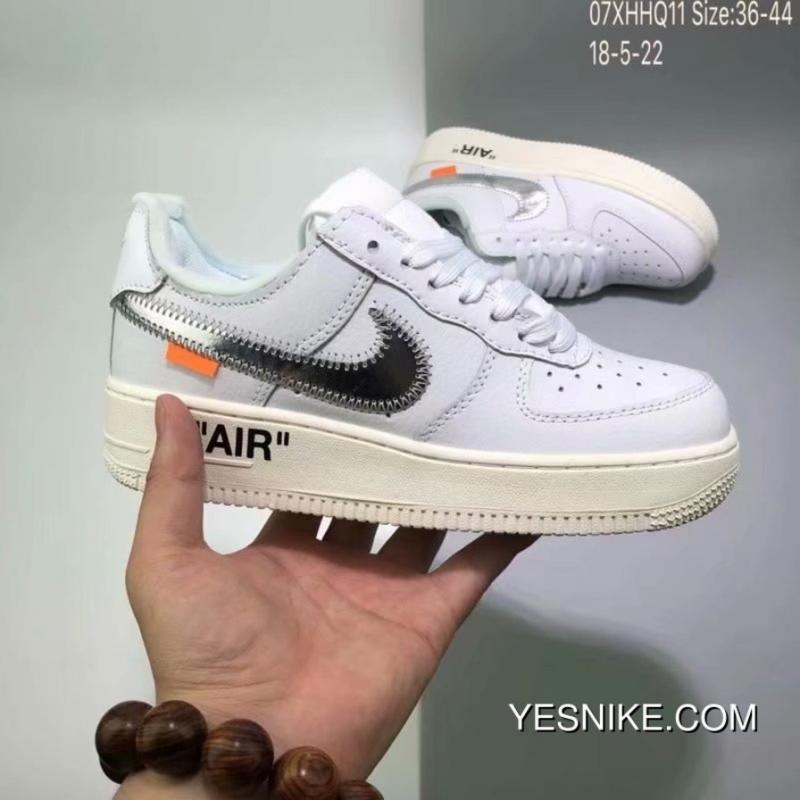 Nike Air Force Off White X 1 Custom Collaboration Publishing One Classic Air Max Zoom Ao4297 001 Best