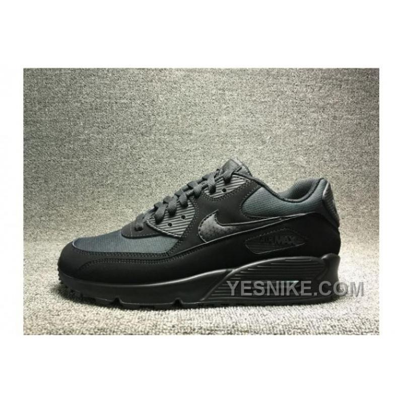 mens nike air max 90 all black nz