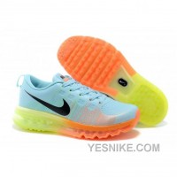 Big Discount ! 66% OFF! Soldes Plus Recent Nike Air Max Flyknit Femme Bleu Orange Jaune Baskets France