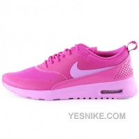 Big Discount ! 66% OFF! Nike Air Max Thea Womens Pink Black Friday Deals 2016[XMS2161]