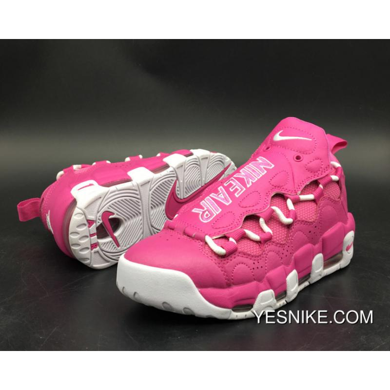 c071b18ccda ... Nike Air More Money Qs Think Pink Aj7383-600 New Year Deals