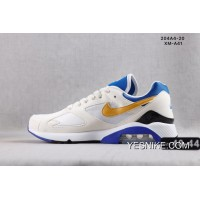 NIKE AIR MAX 180 OG 4044 White Blue Men Online