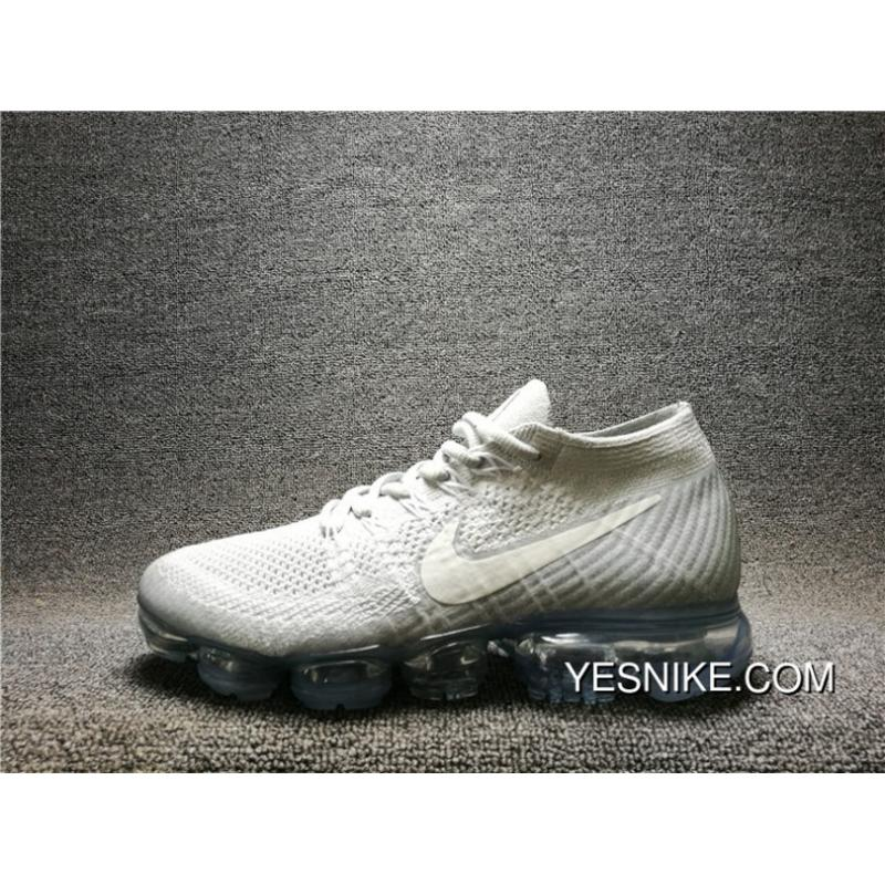 716e456417aa 2017 New High Quality NIKE AIR VAPORMAX FLYKNIT Woven FLYKNIT Mesh  Breathable Running Shoes 849558- ...