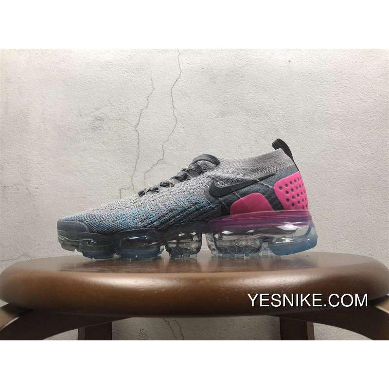 competitive price 57c53 85618 2.0 Zoom Air Nike Air Vapormax 2.0 Flyknit Grey Peach Red 852-780479 For  Sale