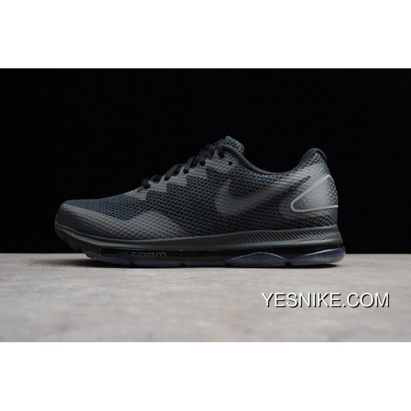 Nike ZOOM Shoes 2.0 AJ0035-004 ALL Black ZOOM ALL OUT LOW 2 Men Running ... 17ff7d5b7a