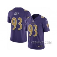 Big Discount ! 66% OFF ! Men's Nike Baltimore Ravens #93 Lawrence Guy Limited Purple Rush NFL Jersey