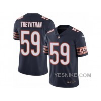 Big Discount ! 66% OFF ! Men's Nike Chicago Bears #59 Danny Trevathan Elite Navy Blue Rush NFL Jersey
