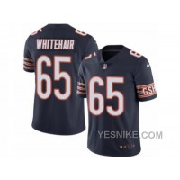 Big Discount ! 66% OFF ! Men's Nike Chicago Bears #65 Cody Whitehair Elite Navy Blue Rush NFL Jersey