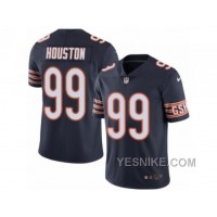 Big Discount ! 66% OFF ! Men's Nike Chicago Bears #99 Lamarr Houston Elite Navy Blue Rush NFL Jersey