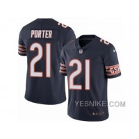 Big Discount ! 66% OFF ! Men's Nike Chicago Bears #21 Tracy Porter Limited Navy Blue Rush NFL Jersey