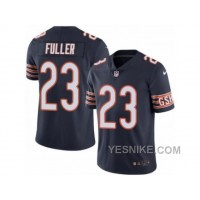 Big Discount ! 66% OFF ! Men's Nike Chicago Bears #23 Kyle Fuller Limited Navy Blue Rush NFL Jersey