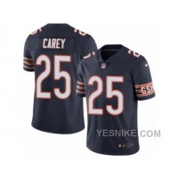 Big Discount ! 66% OFF ! Men's Nike Chicago Bears #25 Ka'Deem Carey Limited Navy Blue Rush NFL Jersey