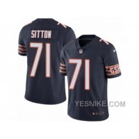 Big Discount ! 66% OFF ! Men's Nike Chicago Bears #71 Josh Sitton Limited Navy Blue Rush NFL Jersey