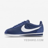 Big Discount ! 66% OFF! Nike Cortez Womens Blue Black Friday Deals 2016[XMS1845]