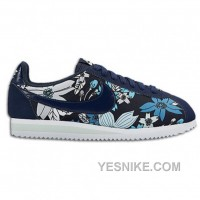 Big Discount ! 66% OFF! Nike Cortez Womens Flower Black Friday Deals 2016[XMS1988]