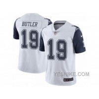 Big Discount ! 66% OFF ! Men's Nike Dallas Cowboys #19 Brice Butler Limited White Rush NFL Jersey