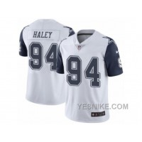 Big Discount ! 66% OFF ! Men's Nike Dallas Cowboys #94 Charles Haley Limited White Rush NFL Jersey