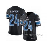 Big Discount ! 66% OFF ! Men's Nike Detroit Lions #24 Nevin Lawson Limited Black Rush NFL Jersey