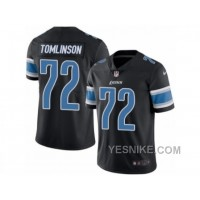 Big Discount ! 66% OFF ! Men's Nike Detroit Lions #72 Laken Tomlinson Limited Black Rush NFL Jersey