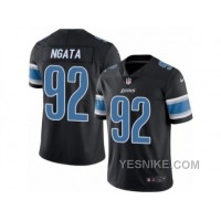 Big Discount ! 66% OFF ! Men's Nike Detroit Lions #92 Haloti Ngata Limited Black Rush NFL Jersey
