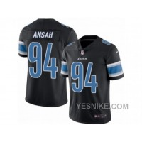 Big Discount ! 66% OFF ! Men's Nike Detroit Lions #94 Ziggy Ansah Limited Black Rush NFL Jersey