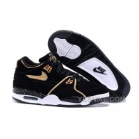 Big Discount ! 66% OFF! Nike Air Flight '89 Black/Metallic Bronze-White Shoes 312187
