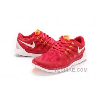 Big Discount ! 66% OFF! Nike Free 5.0 Mens Red Black Friday Deals 2016[XMS1123]