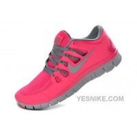 Big Discount ! 66% OFF! Nike Free 5.0 Womens Pink Black Friday Deals 2016[XMS1158]
