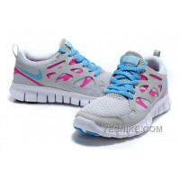 Big Discount ! 66% OFF! Soldes Parcourir Authentique Nike Free Run Femme Chaussures Pearl Blanche Shallow Ash Rose Jade Prix