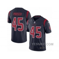 Big Discount ! 66% OFF ! Men's Nike Houston Texans #45 Jay Prosch Limited Navy Blue Rush NFL Jersey
