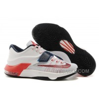 """Big Discount ! 66% OFF! Nike Kevin Durant KD 7 VII """"USA"""" Mens Basketball Shoes"""