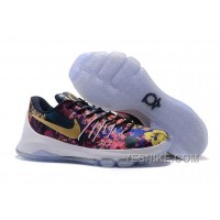 "Big Discount ! 66% OFF! Nike KD 8 EXT ""Floral"" Multicolor Mens Basketball Shoes"