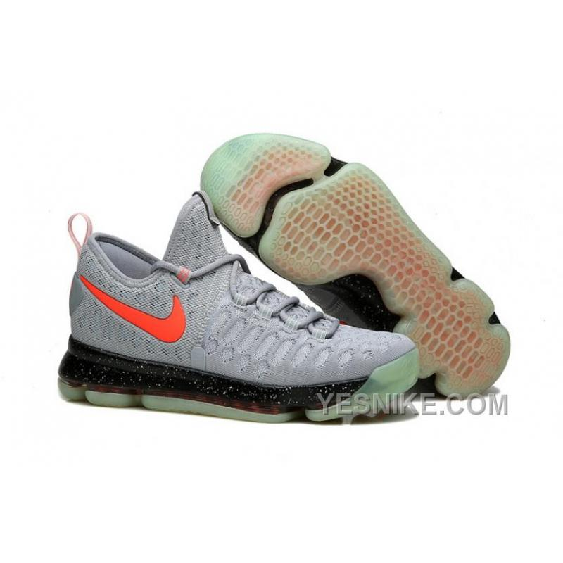 the best attitude 3fb0d 284ee Big Discount ! 66% OFF! Nike KD 9 Limited Edition Gray Black Red  Fluorescence ...