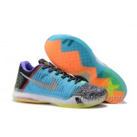 "Big Discount ! 66% OFF! 2017 Nike Kobe 10 Elite Low ""What The"""
