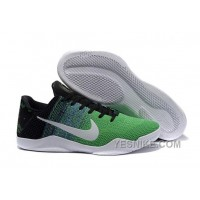 Big Discount ! 66% OFF! Nike Kobe 11 Green Black White For Sale Online