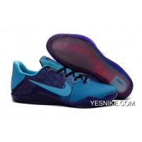 Official NikeKobe 11 Blue Purple For Sale MHm3mdp
